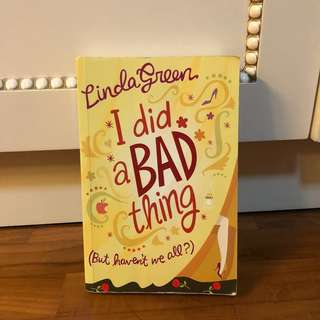I Did A Bad Thing Book