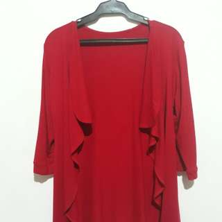 Cardigan Cotton (Red)