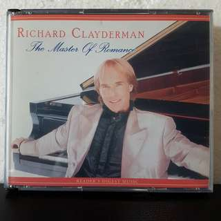 Reserved: 5CD> Richard Clayderman- The Master Of Romance