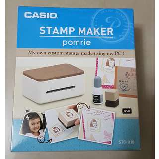 Casio Stamp Maker Pomrie  - make custom stamps using your pc