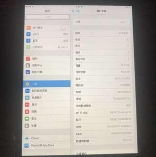 I pad mini 1 (WiFi + SIM card)