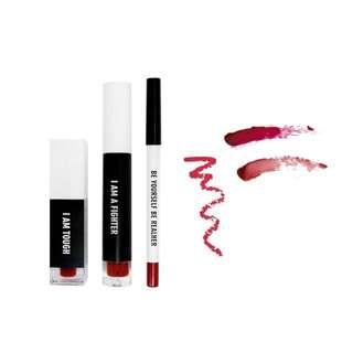 Real Her Lip Kit: Deep Red (New)