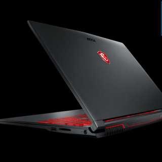 MSI Budget Gaming Laptop Brand New