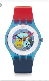 Swatch lacquered 41mm unisex