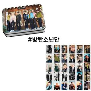 Preorder - BTS Billboard Lomo Card Tin *30 Pcs* exc.pos