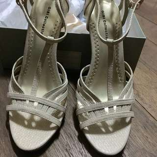 Wedding Shoes: Gibi T-strap Heels (Cayley Size 8)