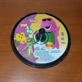 Barney Stop & Go / Hot & Cold VCD