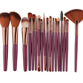 Professional Make Up Brush Set (Preorder)