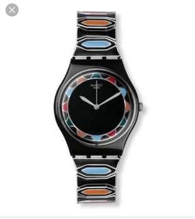 Swatch Zainab stainless steel stretch bracelet