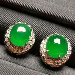 翡翠Jade18KEarrings