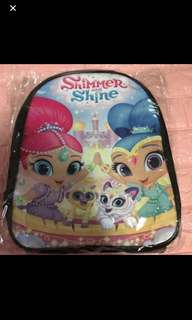 Brand new shimmer and shine bag ht 33cm gd quality
