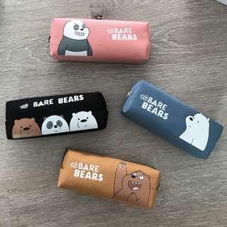 INSTOCK - We Bare Bears Pencil Case