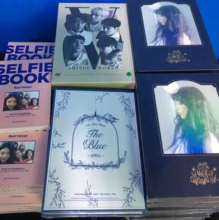 [NEW ARRIVAL] TAEYEON SPECIAL LIVE - THE MAGIC OF CHRISTMAS TIME/SHINEE- WORLD V IN SEOUL/APRIL- THE BLUE/RED VELVET - SELFIE BOOK