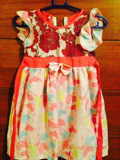 Floral dress for 5-6 years old