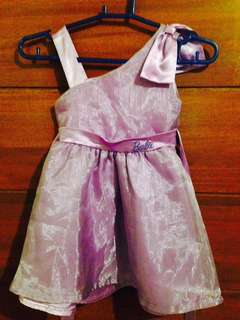 Barbie dress for 2-3 years old