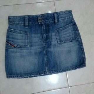 Rok Jeans Diesel Industry / Mini Skirt