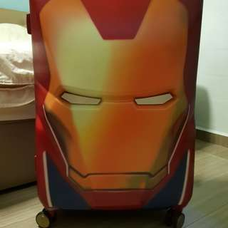 "Samsonite 72"" Ironman Marvel Luggage"