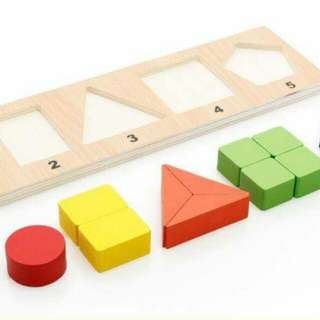 Fraction sorting board