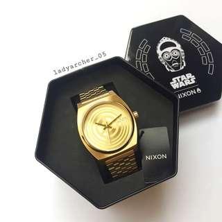 New Authentic Nixon Time Teller C-3PO Star Wars Watch