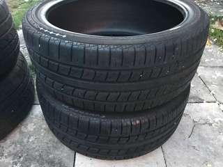 Tayar Second Tyre 205/40 17 inci