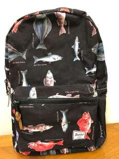Herschel backpack 魚魚 書包