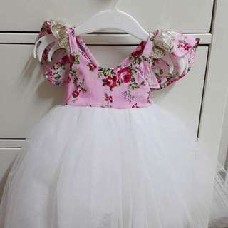 Baby tutu dress handmade from Australia