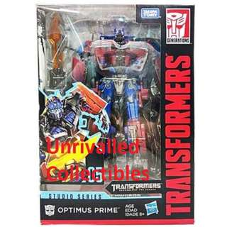 [Back order] Hasbro Transformers Studio Series (TSS) Voyager Class - Optimus Prime and Starscream