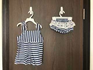 Baby Fashion Top and Bottom