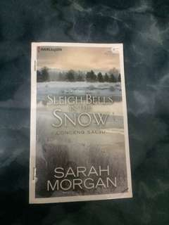Novel Harlequin - Leigh Bells Snow - Sarah Morgan