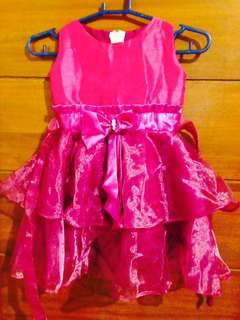 Violet dress for 3-4 years old