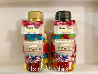 Jelly Beans Wedding Favours