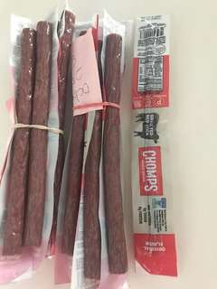 Beef sticks