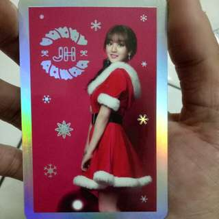 Twice Jihyo Official Photocard