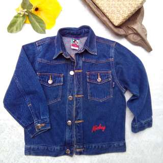 Mickey Mouse Kid's Denim Jacket