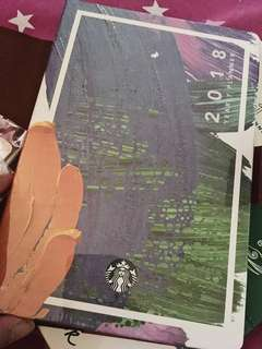 New! Starbucks 2018 planner