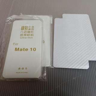 全新華為Mate10透明軟殼 (包本地平郵)