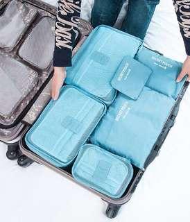 Brand New 6pcs Travel Organiser