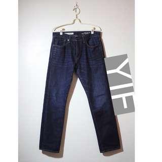 GAP 1969 Standard Taper 靛藍色 深藍色 牛仔褲 錐形 修身 復古 古著 VINTAGE