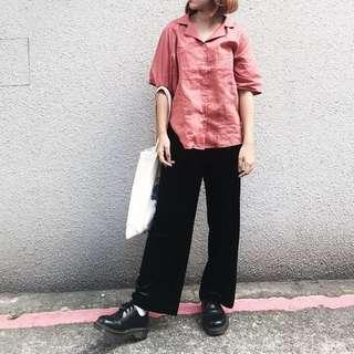 🚚 磚紅襯衫!!!割愛
