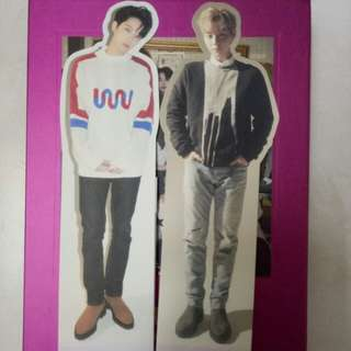 Wanna One Official Standee Set
