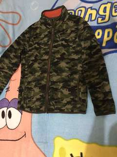 Jacket army uniqlo