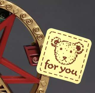 CUSTOMIZE STICKERS PRINTING / Bear ' For You ' Stickers