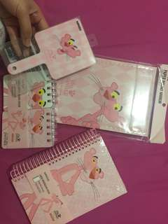 miniso so cute edisi pink panther