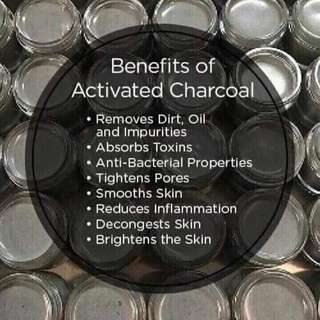 Bamboo acitivate charcoal