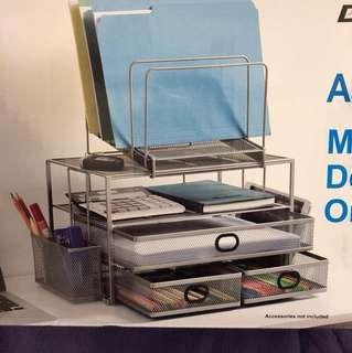 桌用多功能抽屜文件收納架