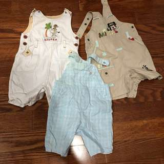 Jumpsuits for baby boys
