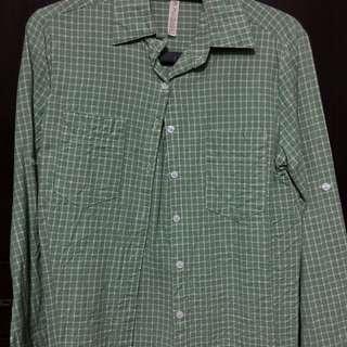 淺綠 襯衫