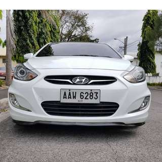 Hyundai Accent 2014 Gas Automatic Casa Maitained