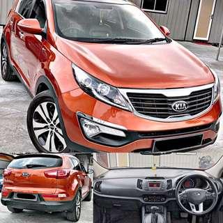 SAMBUNG BAYAR / CONTINUE LOAN  KIA SPORTAGE 2.0 AUTO
