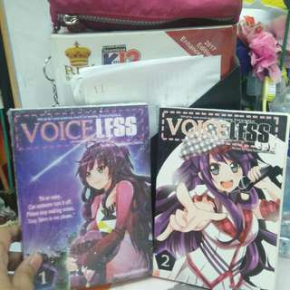 VOICELESS for sale per book